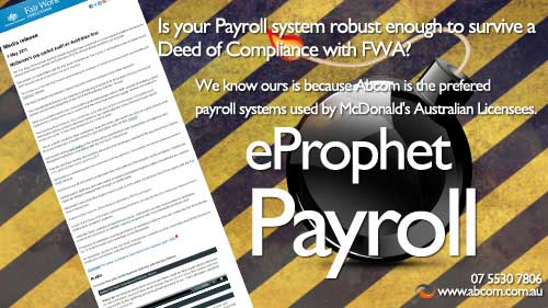 payroll deed of compliance