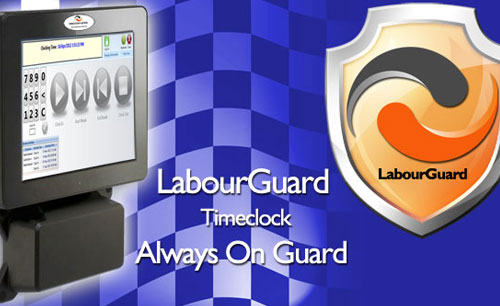 labourguard timeclock hardware and software