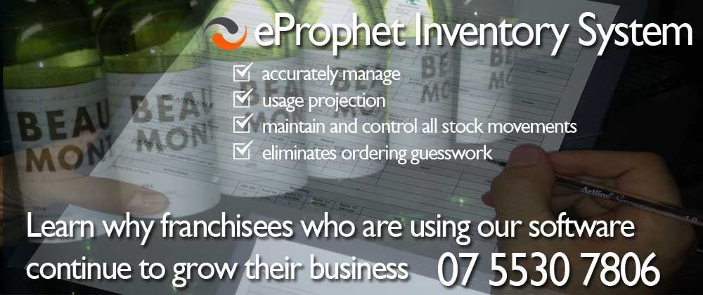 franchise restaurant inventory system software