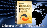scheduling timeclock payroll package